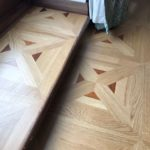 wood floor with inlay detailing in chester