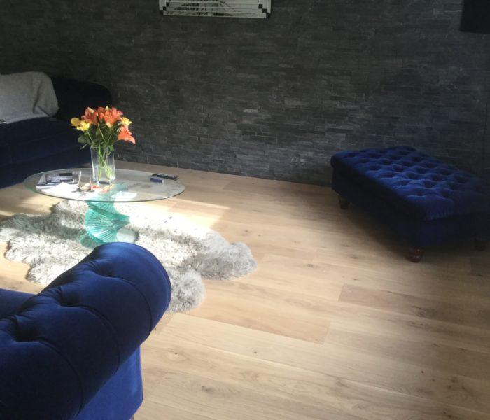 lounge floor in wood