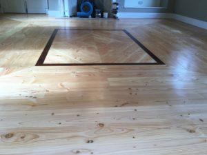 Bespoke Flooring, in Douglas fir