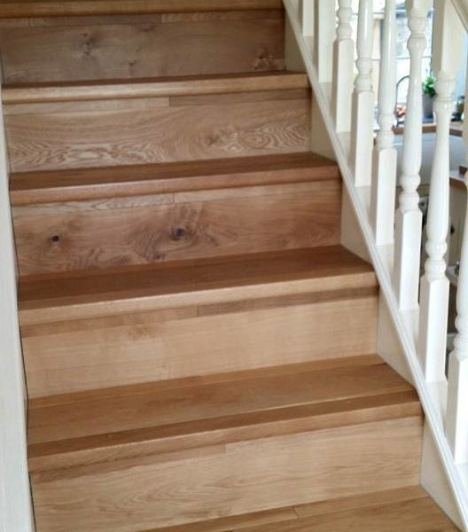wood flooring stairs