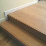 wood flooring on stairs