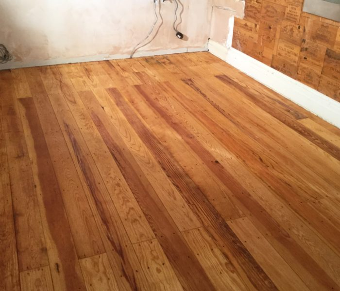 sanding of a pitch pine floor chester wood flooring chester wood flooring. Black Bedroom Furniture Sets. Home Design Ideas