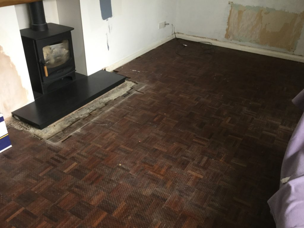 Replacement Of A Parquet Floor Chester Wood Flooring