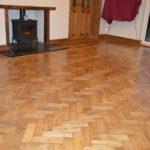 Restoration floor sanding