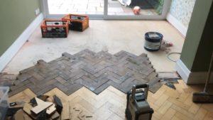 Floor restoration and extension