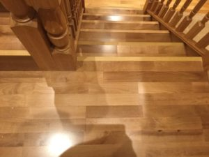 Junckers on display at Chester wood flooring