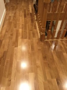 Junckers 22mm Sylvaket Harmony 129mm two strip solid wood