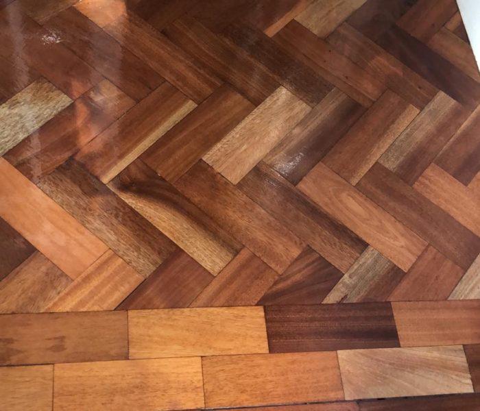 Tired floor restored
