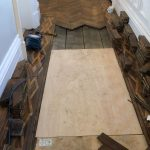 1780s wood flooring restoration