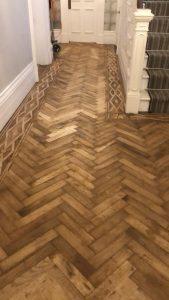 1780s wood floor