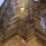 1780's wood floor